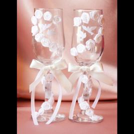 Свадебные бокалы «Единое сердце»
