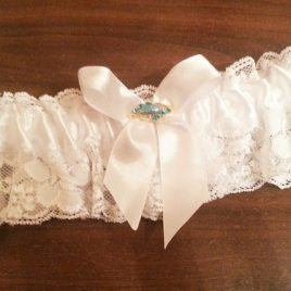 Подвязка невесты «Скромная принцесса»