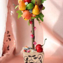 Дерево фруктовое 2 вишенки