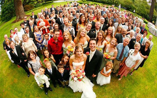 как знакомить родственников на свадьбе
