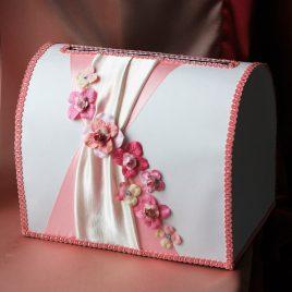 Сундук для денег Розовая мелодия
