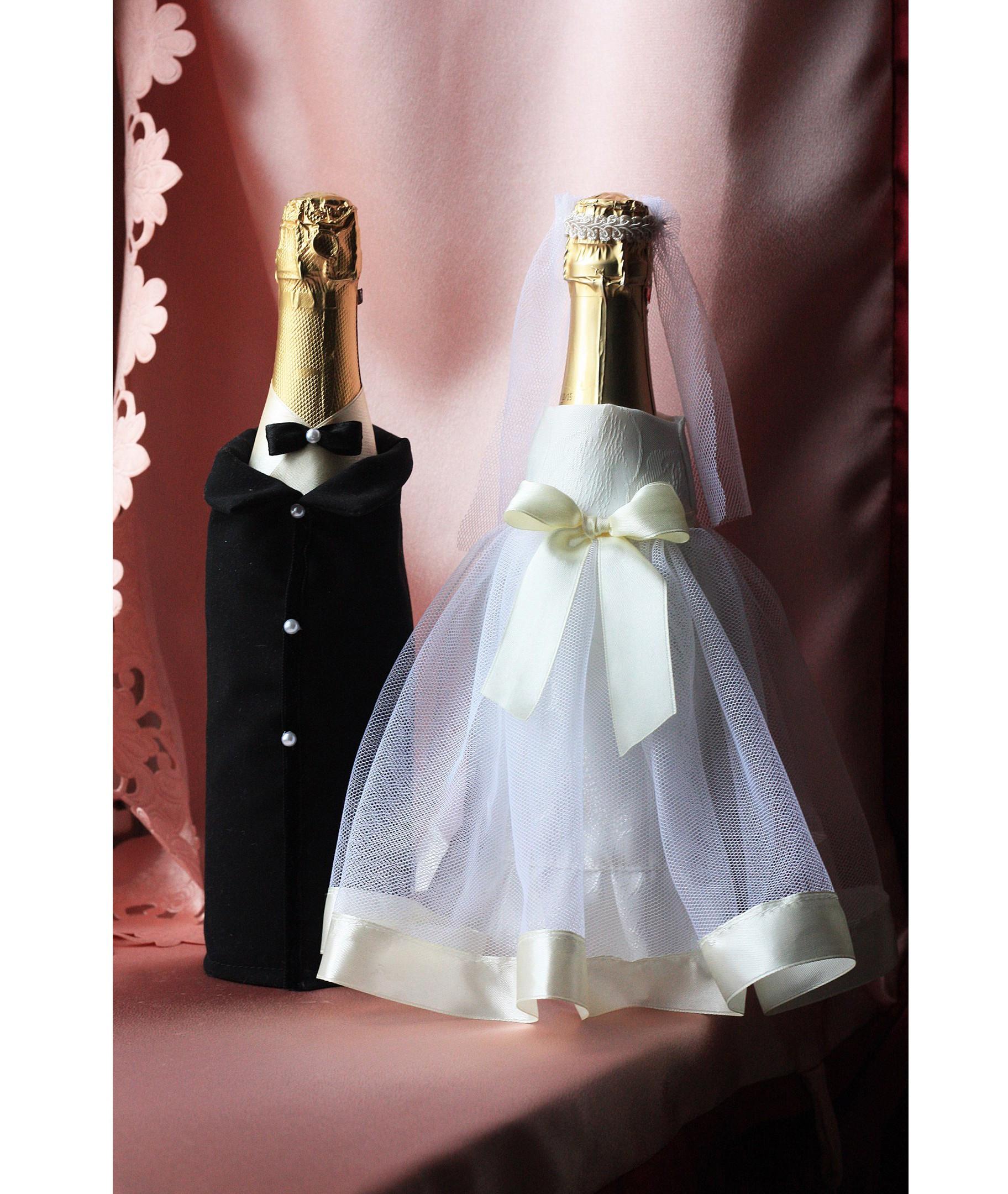 Костюм на бутылки шампанского своими руками 53