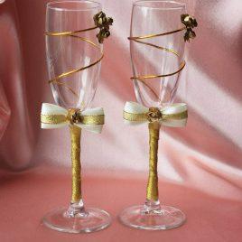 Свадебные бокалы Элегантность