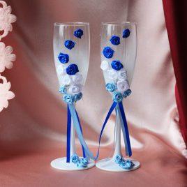 Свадебные бокалы «Питерские»