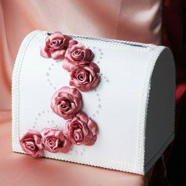 Сундук для денег Лилу розовый