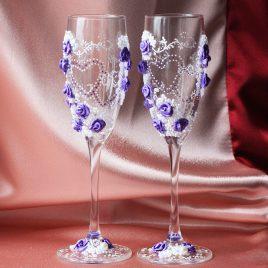 Свадебные бокалы Любимые
