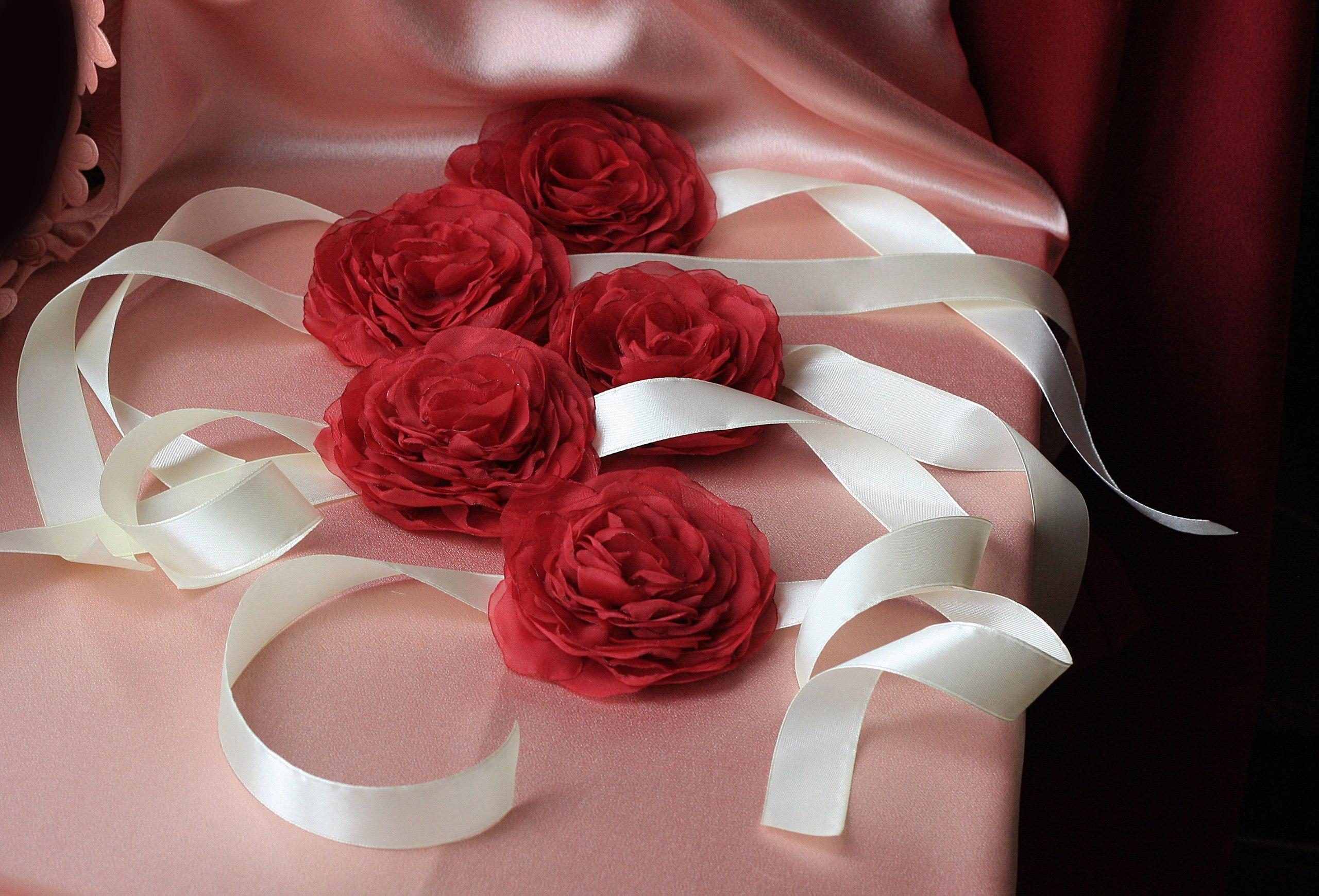 Свадебные повязки на руку своими руками фото