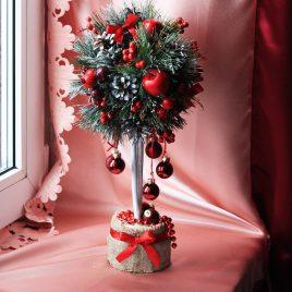 Дерево счастья Топиарий Подарок