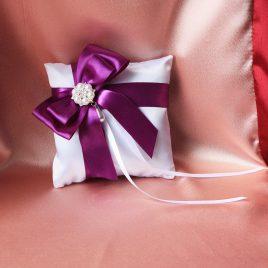 Свадебная подушка для колец Вечер