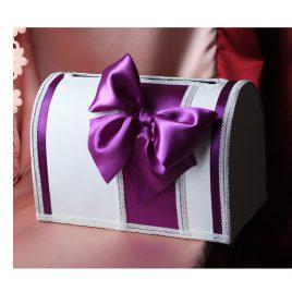 Сундук для денег Гестия фиолетовая