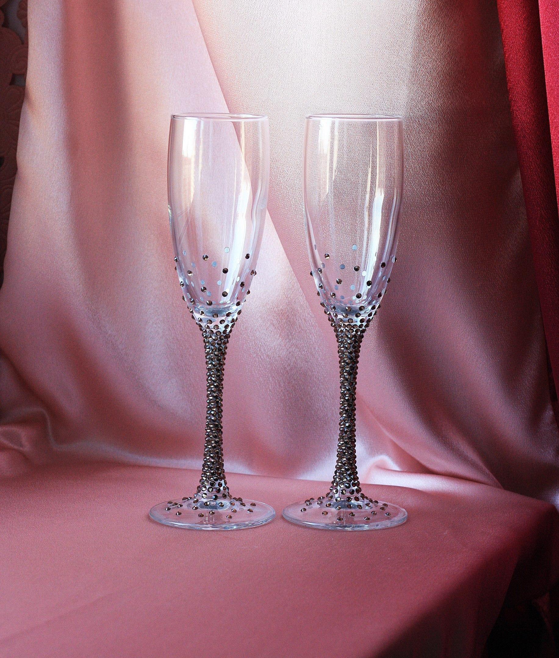 Свадебные бокалы цены 167