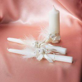 Свадебные свечи С Днем Свадьбы