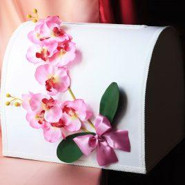 Сундук для денег Орхидея большой