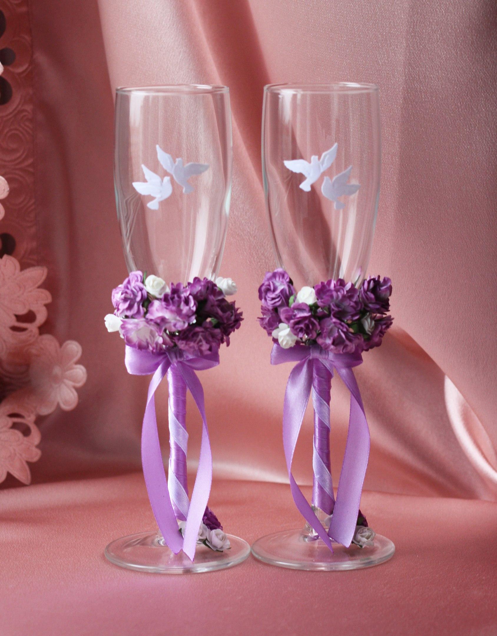 Свадебные бокалы цены 160