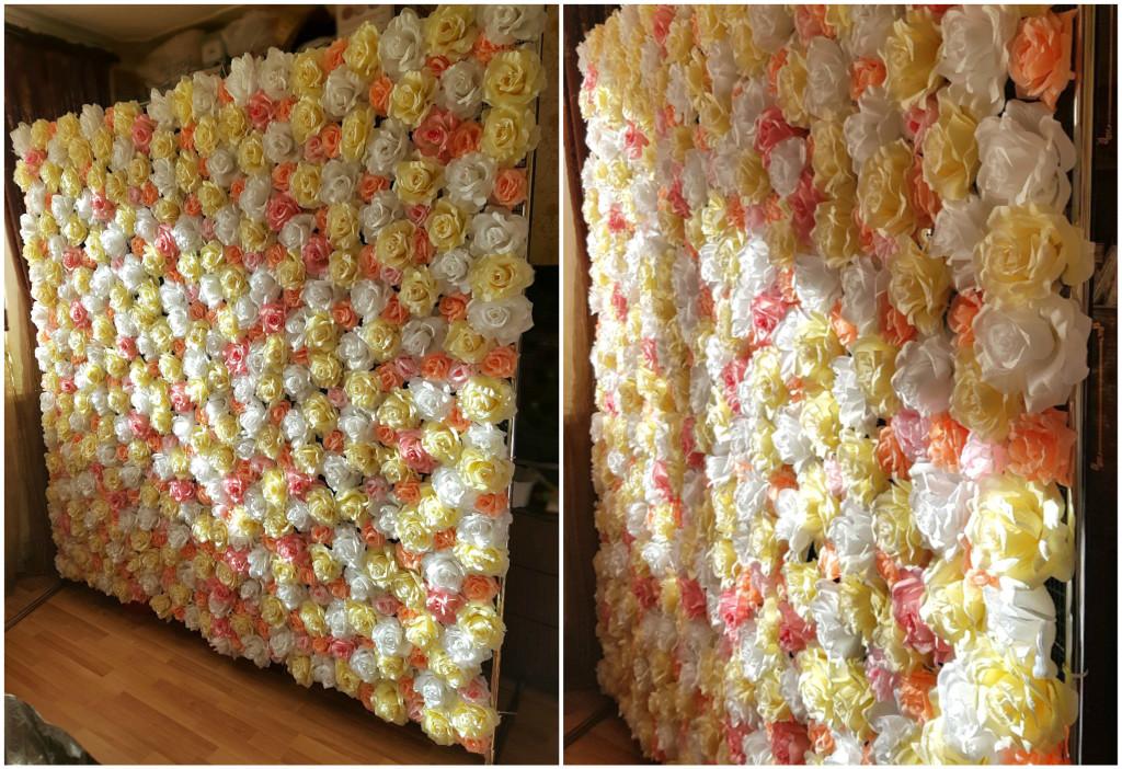 фотозона в спб из роз