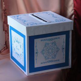 Свадебная коробка для денег №1