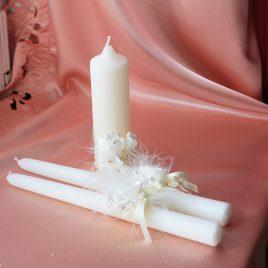 Свадебные свечи С Днем Свадьбы №4