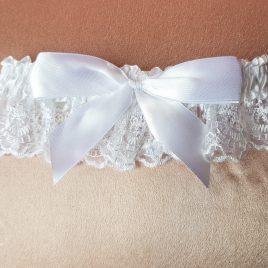 Свадебная подвязка невесты №12