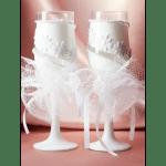 "Свадебные бокалы ""Балерины"""