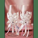 """Свадебные бокалы """"Два бриллианта"""""""