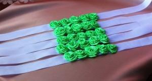 """Ленты для подружек невесты """"Зелень"""""""