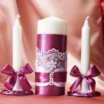 Декоративные материалы: свечи своими руками