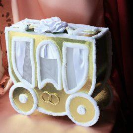 сундук для денег золотая карета