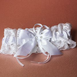Подвязка невесты «Три стразинки»