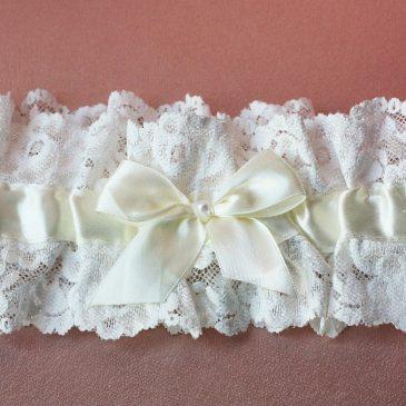 Подвязка невесты «Нежное кружево»