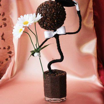 Топиарий – дерево, приносящее в дом счастье