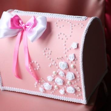 Сундук для денег Розовое счастье