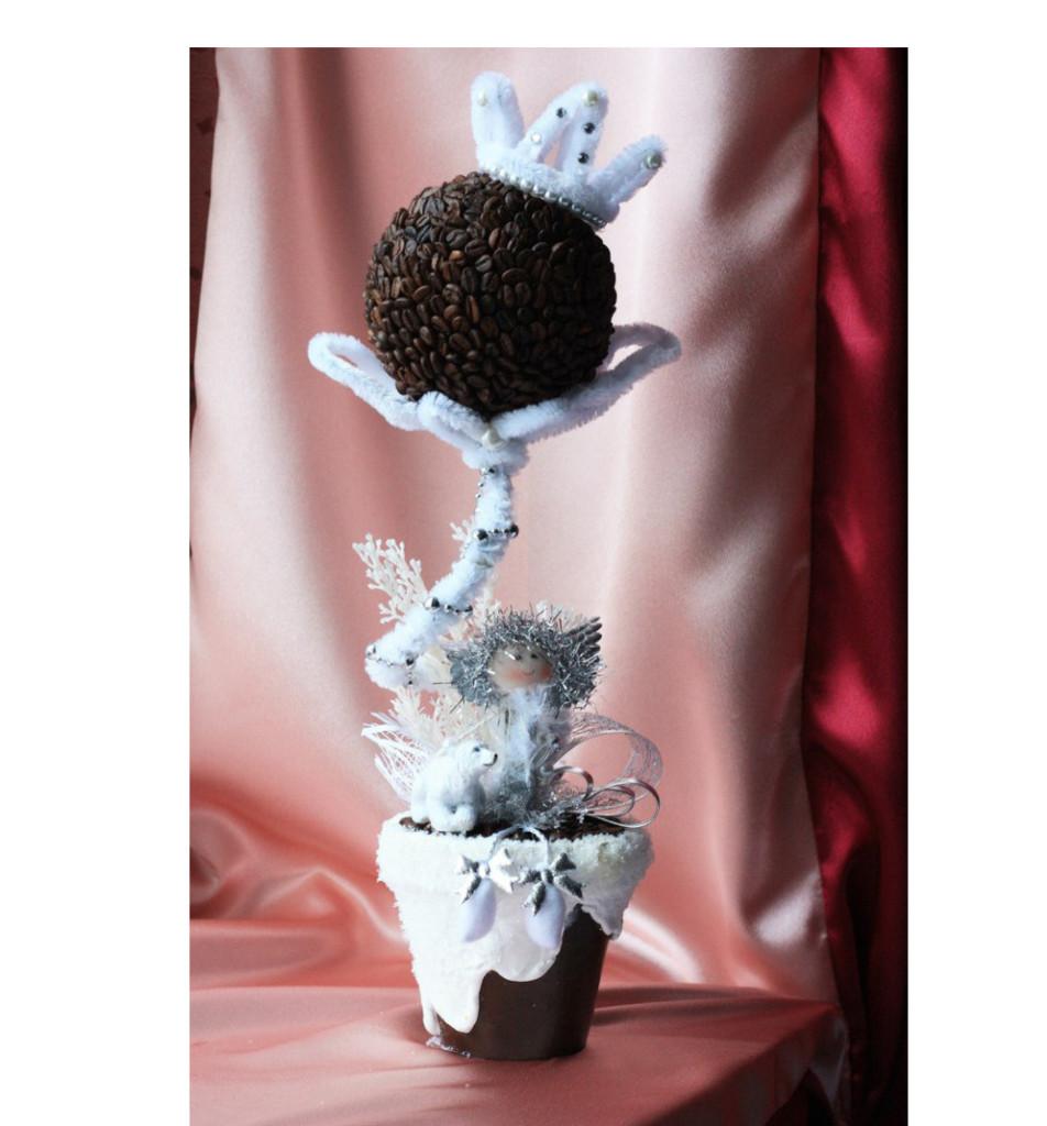 Топиарий Снежная королева, 45 см