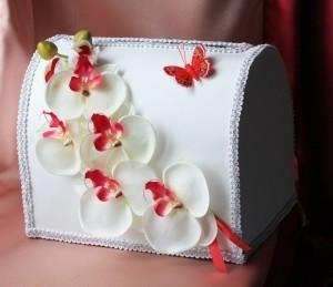 Сундук для денег Орхидея