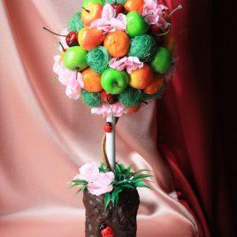 Дерево счастья Фруктовое с божьей коровкой