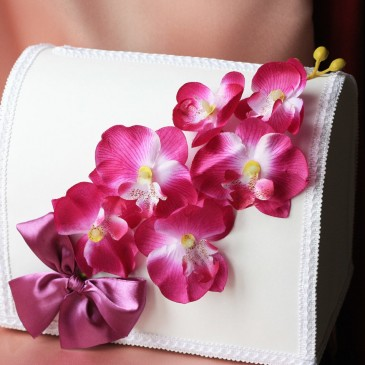 Сундук для денег Пурпурная орхидея