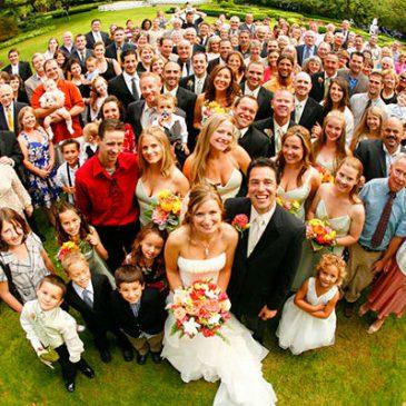 Свадьба: Знакомим «кланы»