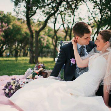 Что необходимо взять на свадебную прогулку?