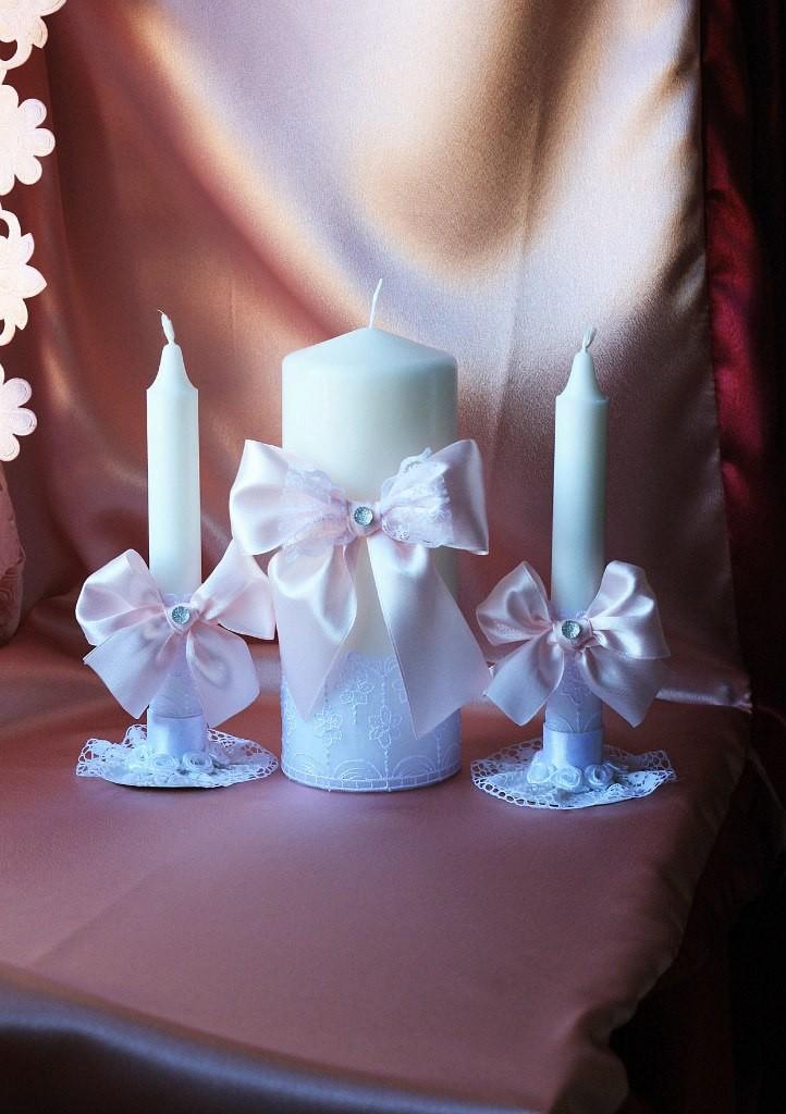 Свадебная подвязка Розовое очарование