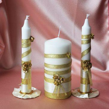 Свадебные свечи Элегантность