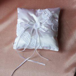 Подушка для колец Белоснежная