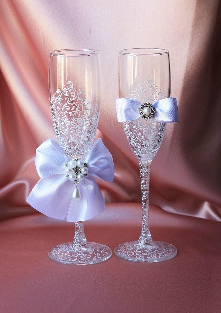 Свадебные бокалы Грация