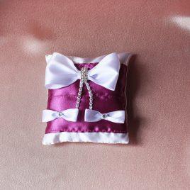Подушка для колец Фиолетовая