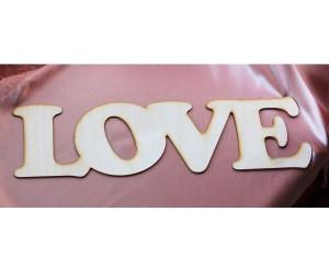 "Надпись деревянная ""Love"""