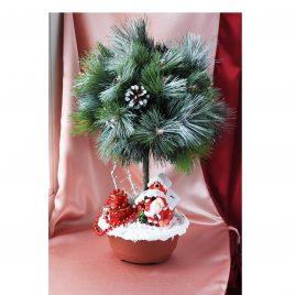 Дерево счастья Топиарий Зимний лес