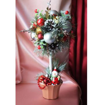 Дерево счастья Топиарий Новогодняя сказка