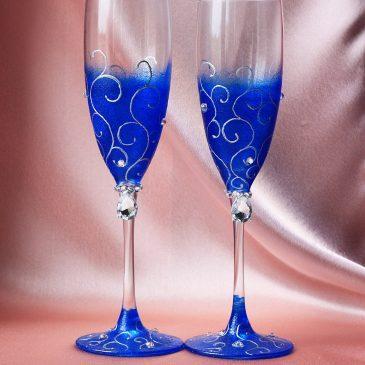Свадебные бокалы Магия