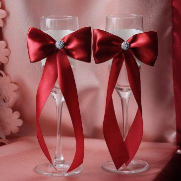Свадебные бокалы Бордо