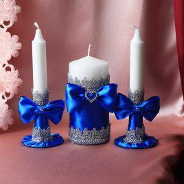 Семейный очаг Набор синие фиалки малый