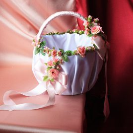Корзинка свадебная Августина