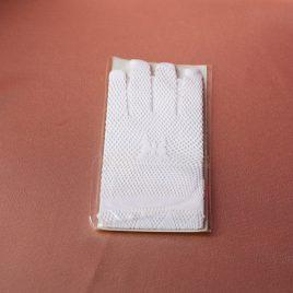 Перчатки белая сеточка